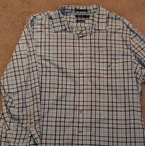 Nautica button down collared shirt